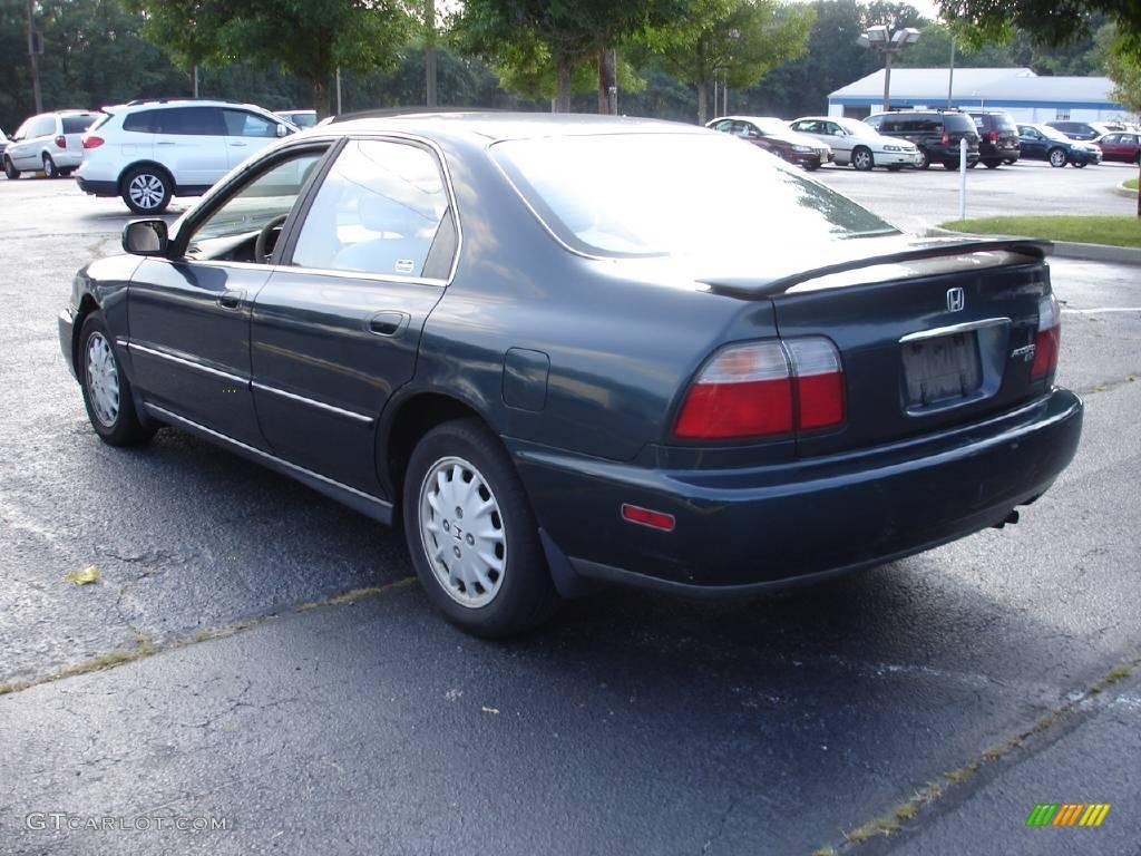 1997 Eucalyptus Green Pearl Honda Accord Ex Sedan
