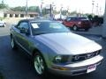 2007 Tungsten Grey Metallic Ford Mustang V6 Premium Convertible  photo #3
