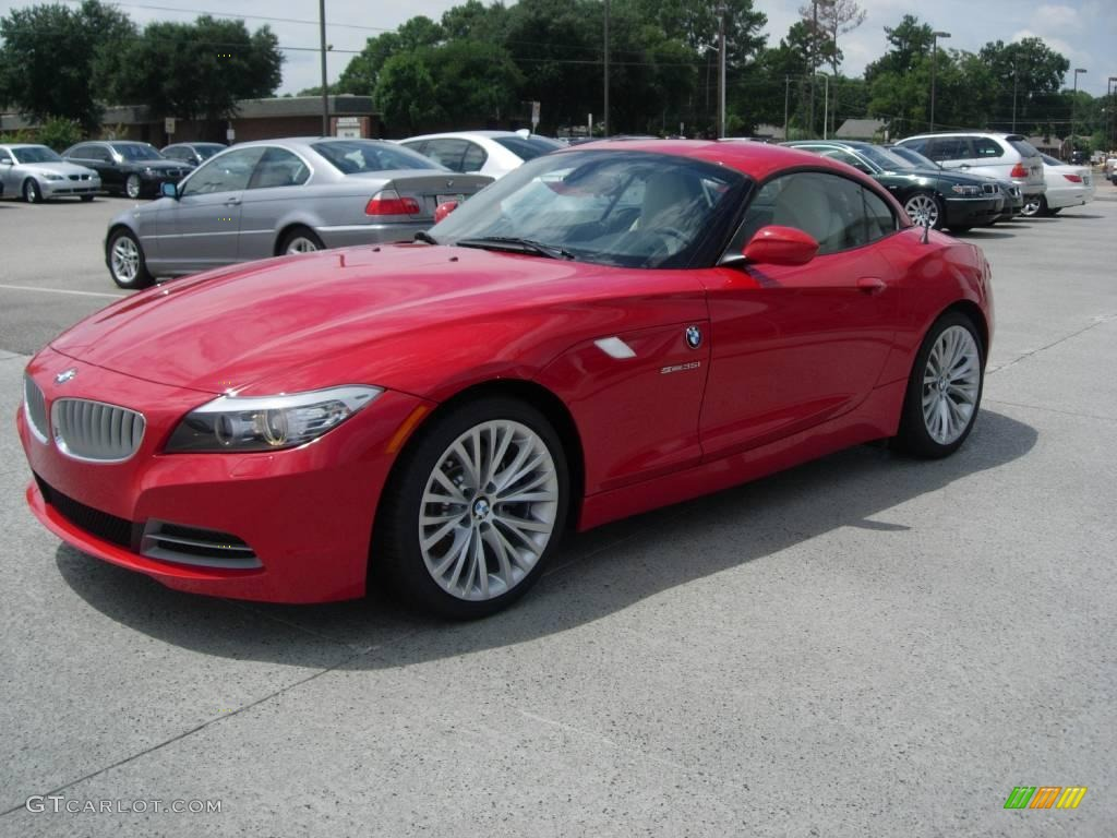 2009 Crimson Red Bmw Z4 Sdrive35i Roadster 16817007 Photo