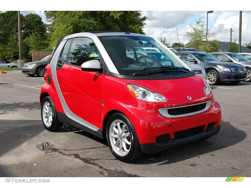 2009 rally red smart fortwo passion cabriolet 16845248 car color galleries. Black Bedroom Furniture Sets. Home Design Ideas