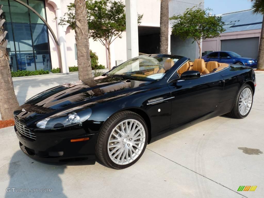 2009 Jet Black Aston Martin Db9 Volante 16836550