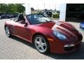 Ruby Red Metallic 2009 Porsche Boxster Gallery