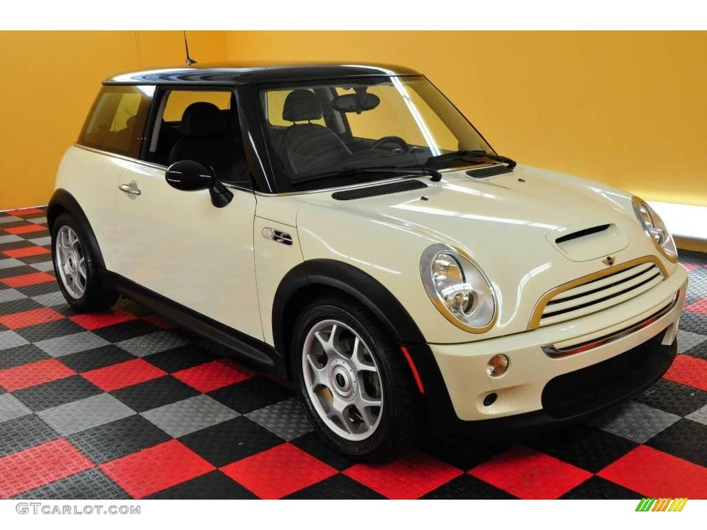 2005 pepper white mini cooper s hardtop 16846049 car color galleries. Black Bedroom Furniture Sets. Home Design Ideas