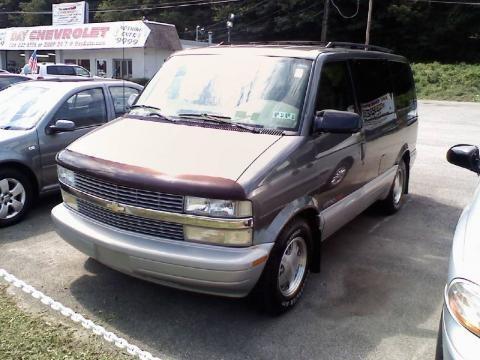 2000 Chevrolet Astro AWD Passenger Van Data, Info and Specs