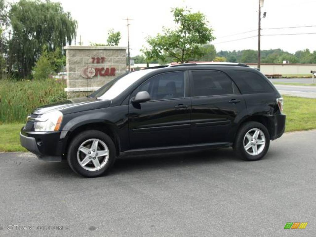 Black Equinox. Black Chevrolet Equinox