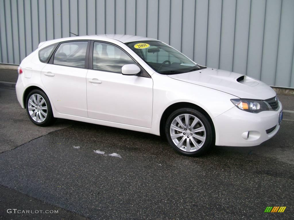 2008 aspen white subaru impreza wrx wagon 1684673. Black Bedroom Furniture Sets. Home Design Ideas