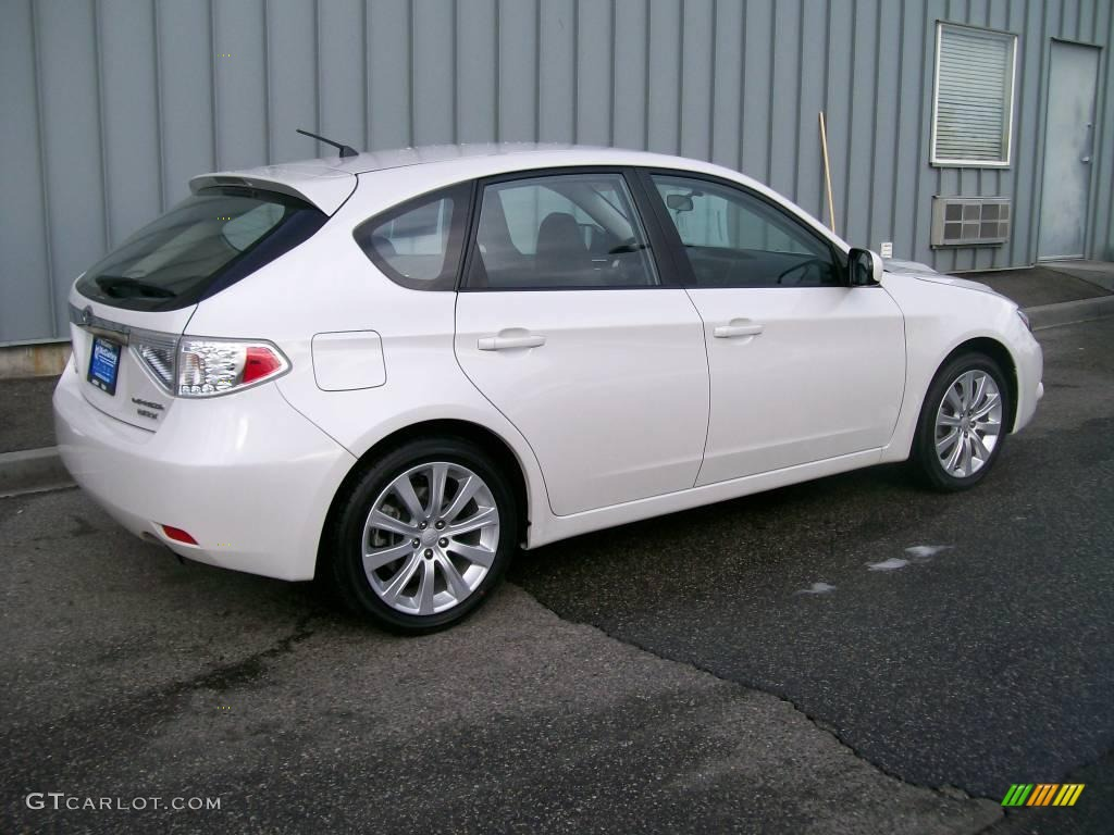 2008 Aspen White Subaru Impreza Wrx Wagon 1684673 Photo