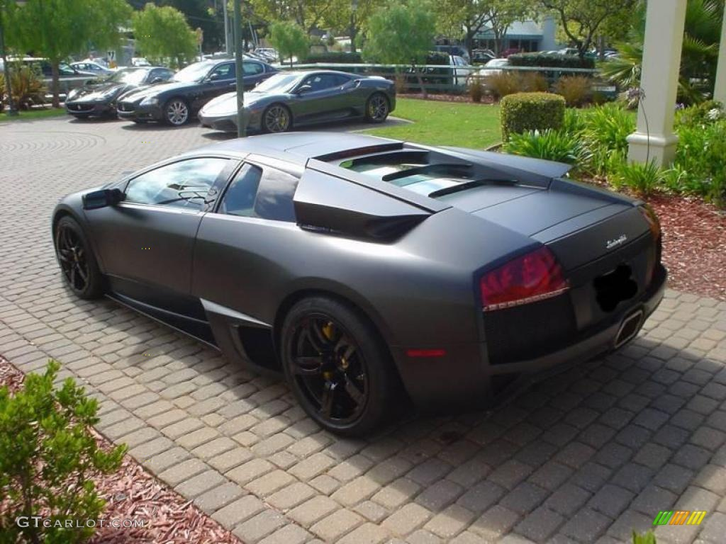 2009 Nero Nemesis Matte Black Lamborghini Murcielago Lp640 Coupe