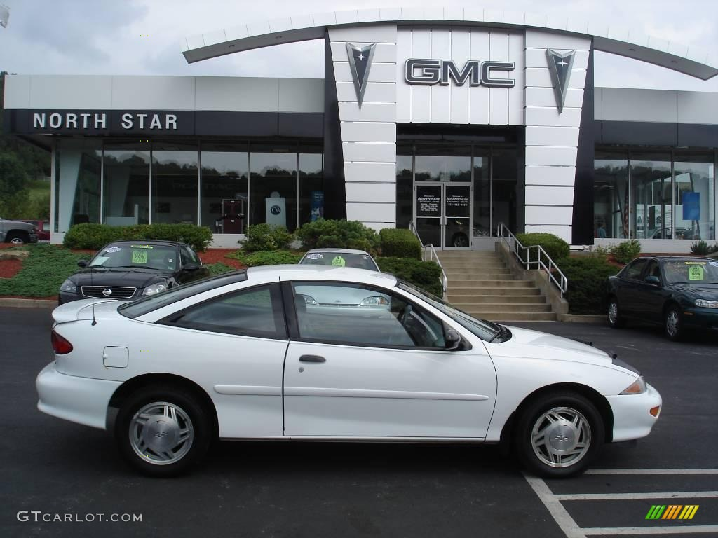1998 Chevrolet Cavalier 1 - Cavalier Coupe Bright White Gray Photo - 1998 Chevrolet Cavalier 1