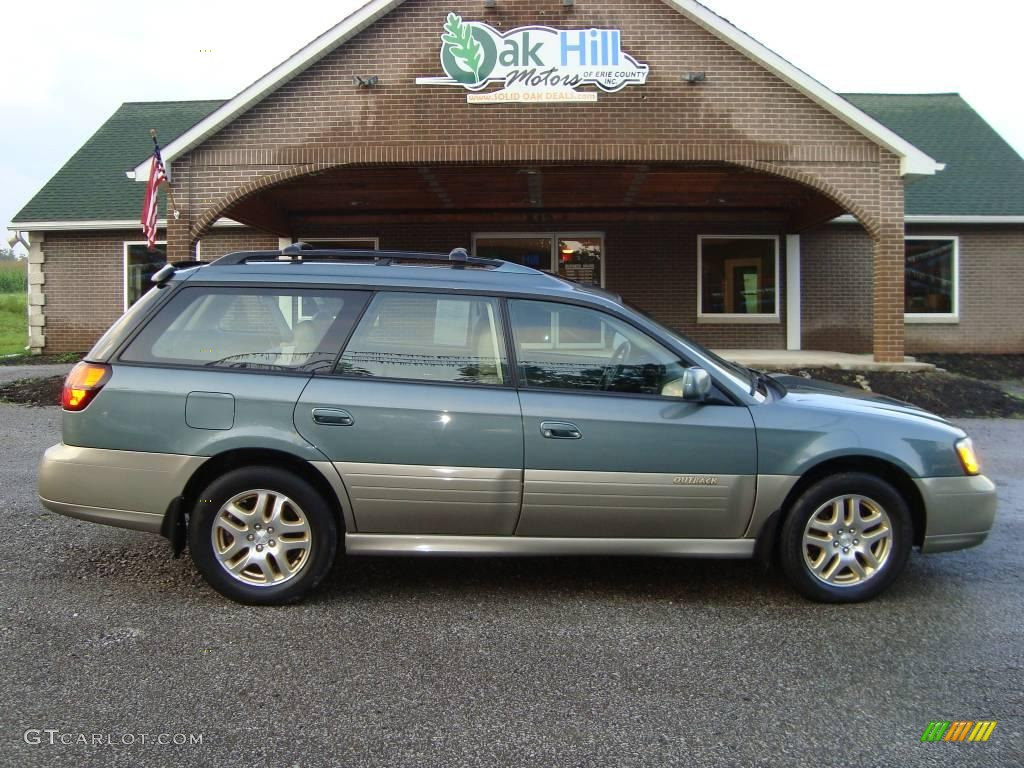 2001 Wintergreen Metallic Subaru Outback Limited Wagon