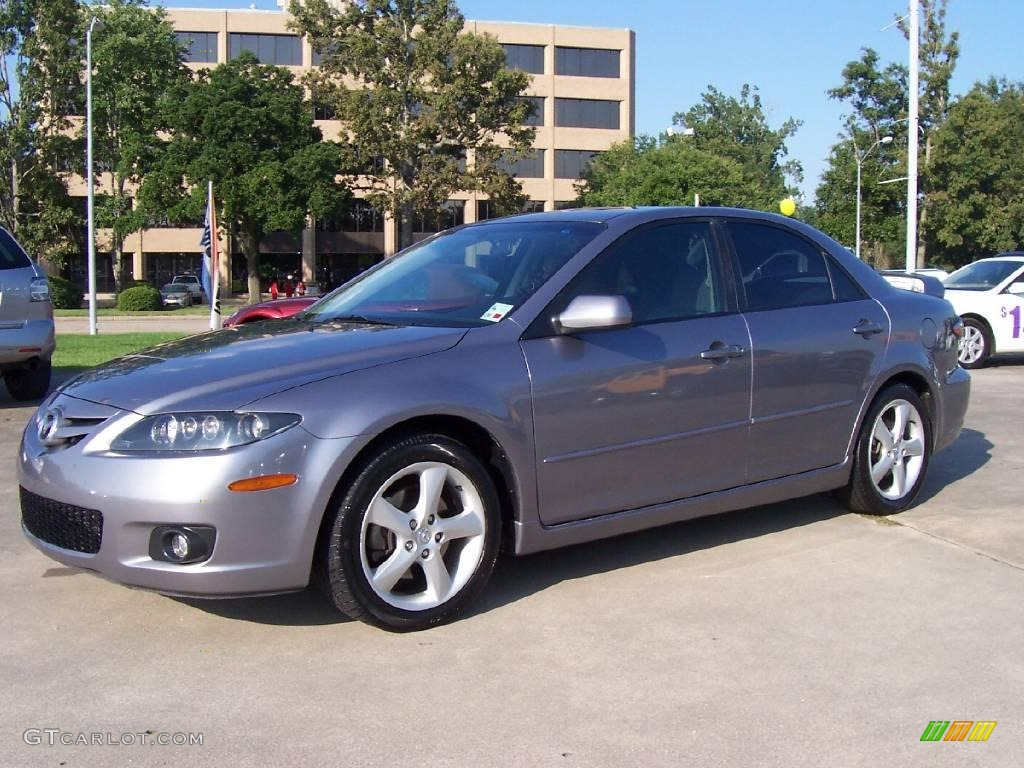 2006 tungsten gray metallic mazda mazda6 s sedan 16909039 car color galleries. Black Bedroom Furniture Sets. Home Design Ideas