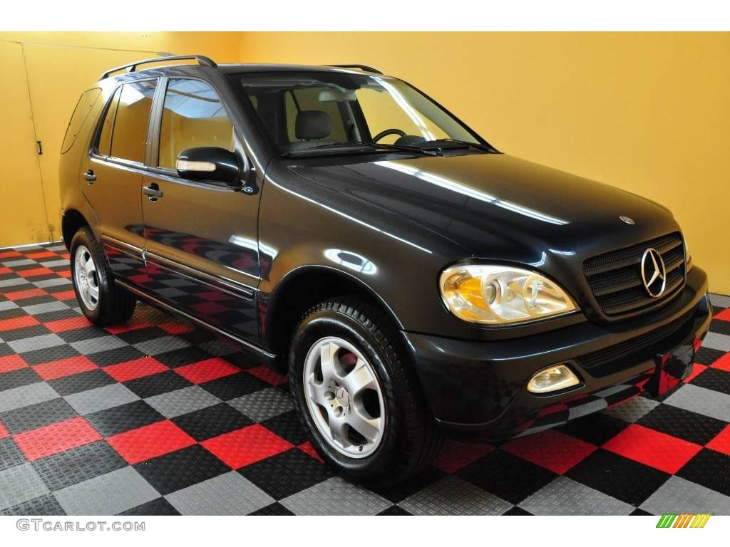 2002 black opal metallic mercedes benz ml 320 4matic for Mercedes benz ml 320 2002