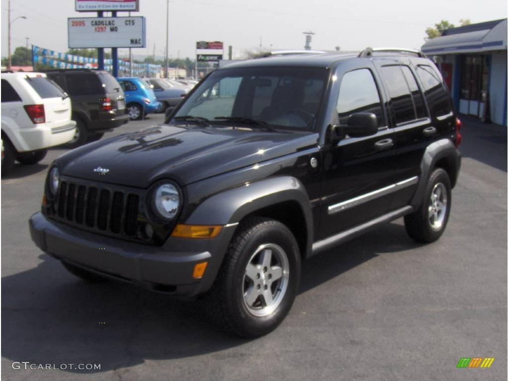 2006 black jeep liberty sport 4x4 #16896775 | gtcarlot - car