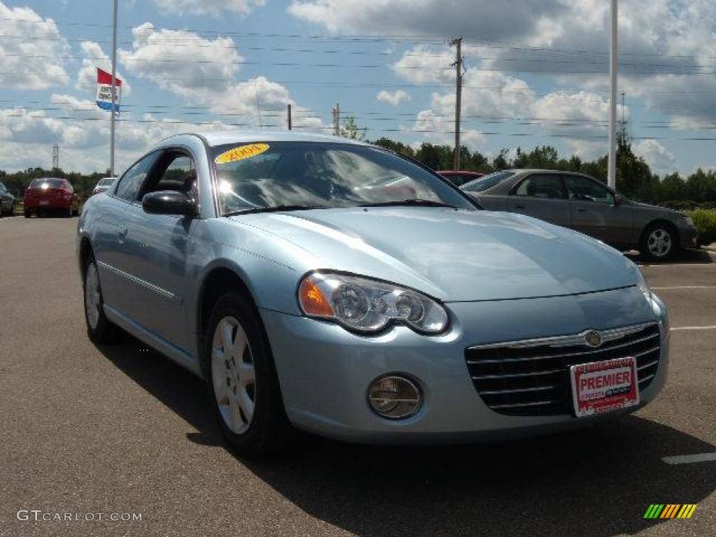 2004 Light Blue Pearl Chrysler Sebring Coupe #16959507 Photo #7 ...