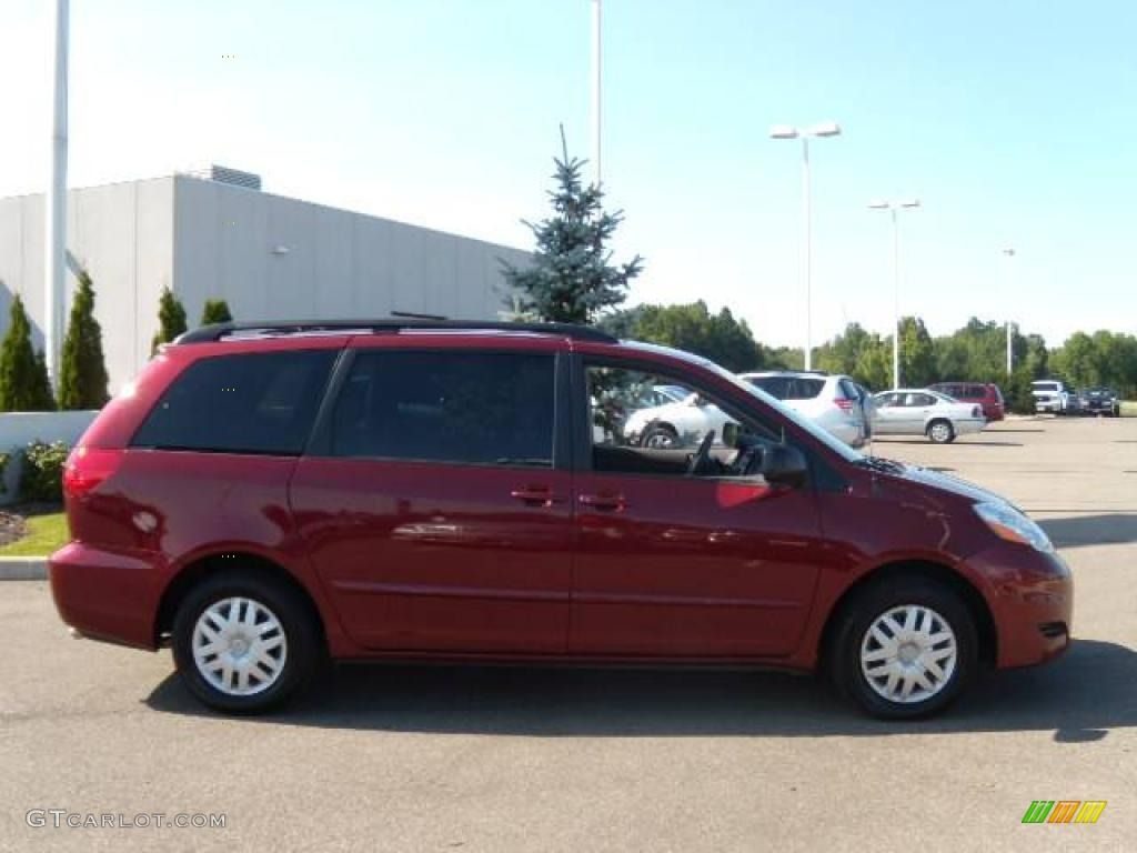 2009 Salsa Red Pearl Toyota Sienna Le 16959476 Photo 6