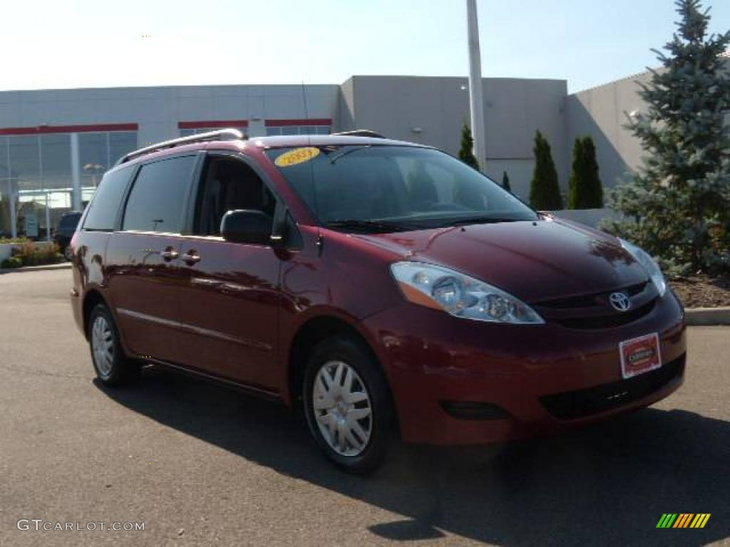 2009 salsa red pearl toyota sienna le 16959476 photo 7. Black Bedroom Furniture Sets. Home Design Ideas