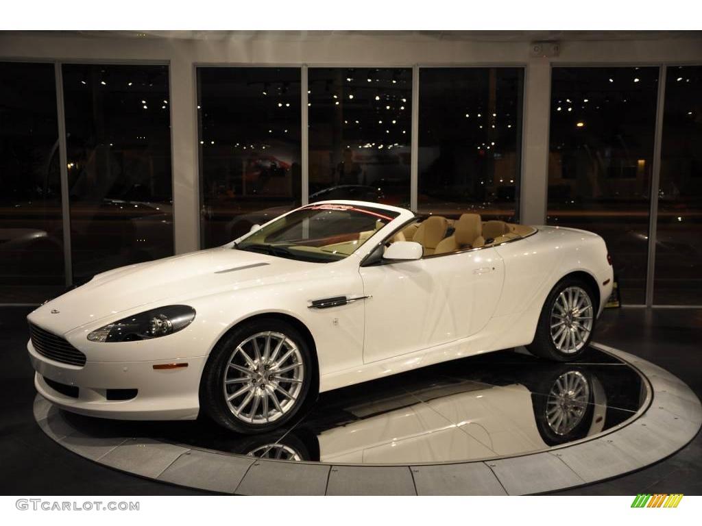 2008 Stratus White Aston Martin DB9 Volante 17001025