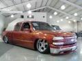 2001 Sunset Orange Metallic Chevrolet Silverado 1500 LS Extended Cab 4x4  photo #4