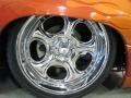 2001 Sunset Orange Metallic Chevrolet Silverado 1500 LS Extended Cab 4x4  photo #16