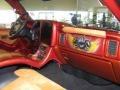 2001 Sunset Orange Metallic Chevrolet Silverado 1500 LS Extended Cab 4x4  photo #25