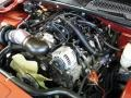 2001 Sunset Orange Metallic Chevrolet Silverado 1500 LS Extended Cab 4x4  photo #28