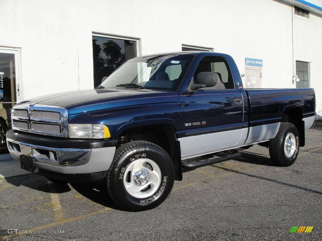 2001 patriot blue pearl dodge ram 1500 slt regular cab 4x4 16987423 car color. Black Bedroom Furniture Sets. Home Design Ideas