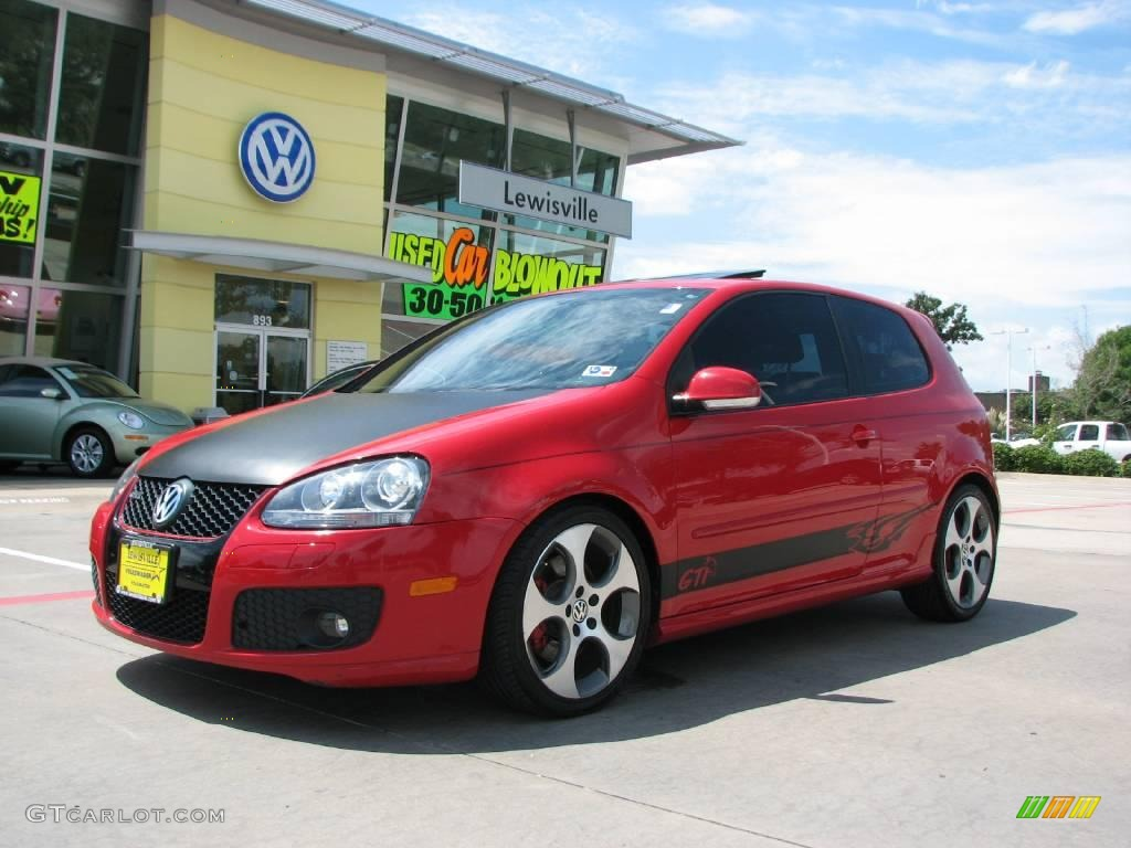 2006 tornado red volkswagen gti 2 0t 16998395 gtcarlot. Black Bedroom Furniture Sets. Home Design Ideas