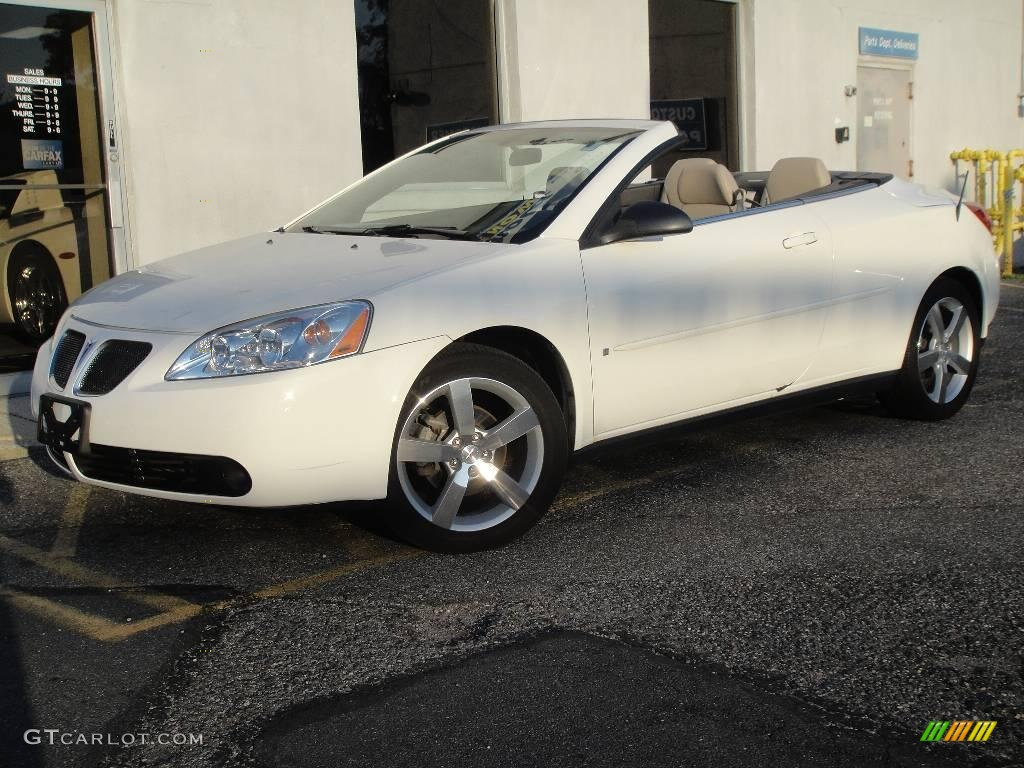 2006 Ivory White Pontiac G6 Gt Convertible 16987444