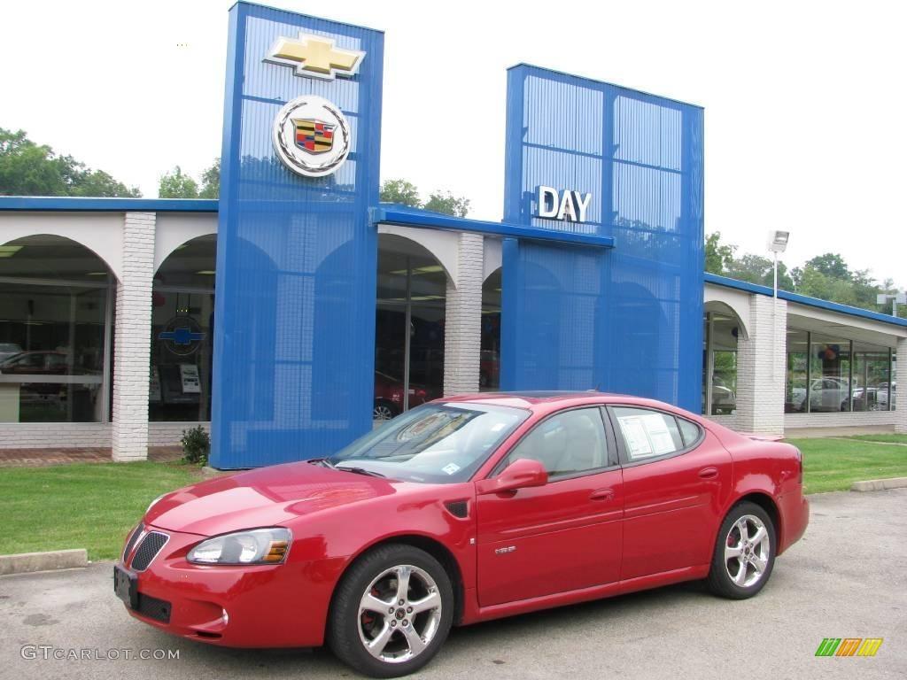 Pontiac 2005 pontiac grand prix gxp : 2006 Sport Red Metallic Pontiac Grand Prix GXP Sedan #16990225 ...