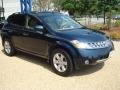 2007 Midnight Blue Pearl Nissan Murano SL AWD  photo #7