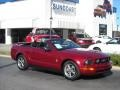 2006 Redfire Metallic Ford Mustang V6 Premium Convertible  photo #2