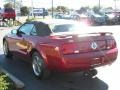 2006 Redfire Metallic Ford Mustang V6 Premium Convertible  photo #6
