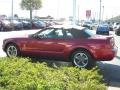 2006 Redfire Metallic Ford Mustang V6 Premium Convertible  photo #7