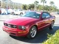 2006 Redfire Metallic Ford Mustang V6 Premium Convertible  photo #8