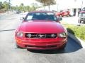 2006 Redfire Metallic Ford Mustang V6 Premium Convertible  photo #9