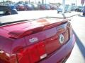 2006 Redfire Metallic Ford Mustang V6 Premium Convertible  photo #14