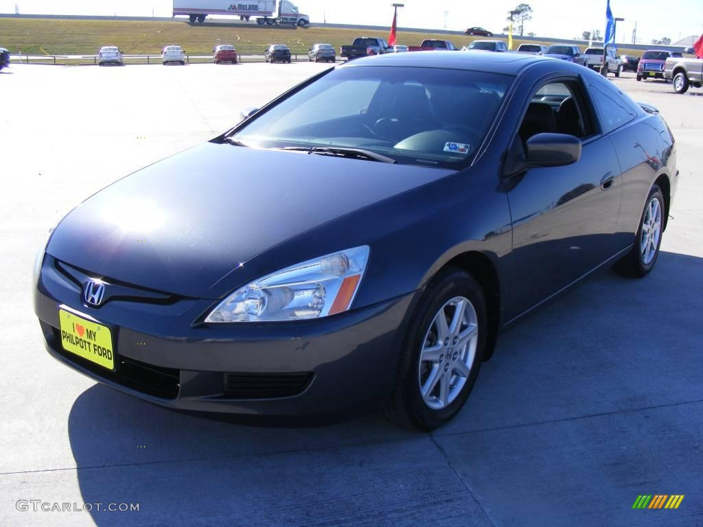 2003 graphite pearl honda accord ex v6 coupe 1702934 car color galleries. Black Bedroom Furniture Sets. Home Design Ideas