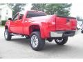 2009 Victory Red Chevrolet Silverado 1500 LS Extended Cab 4x4  photo #7