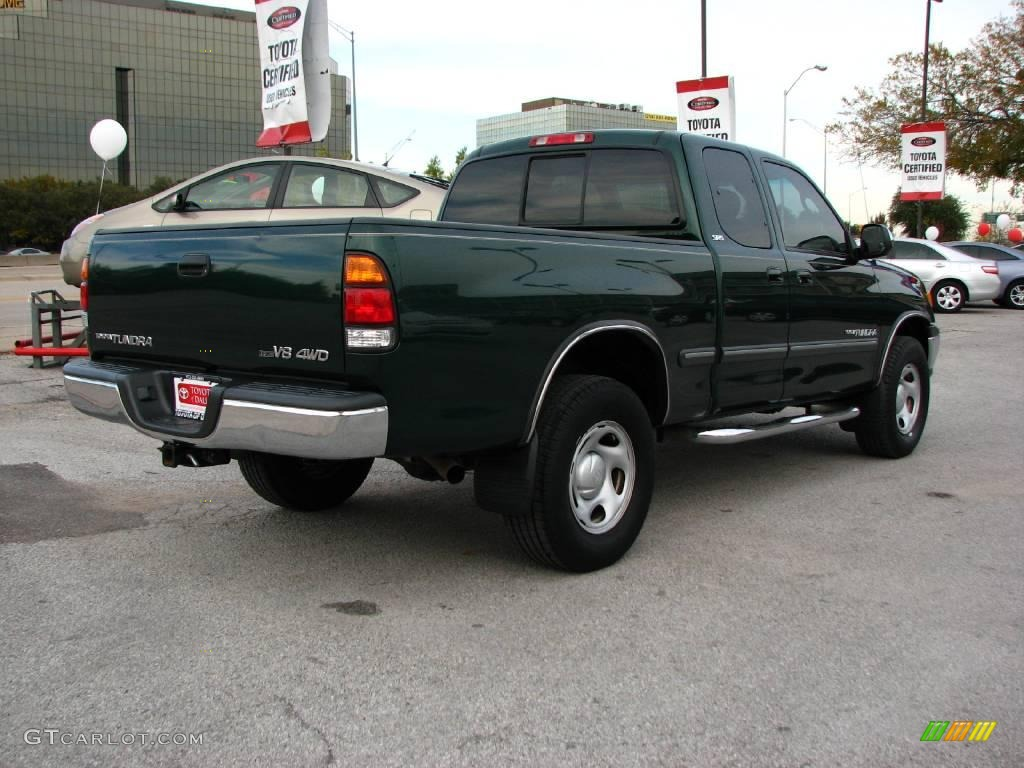 2002 imperial jade green mica toyota tundra sr5 access cab 4x4 1700541 photo 6. Black Bedroom Furniture Sets. Home Design Ideas