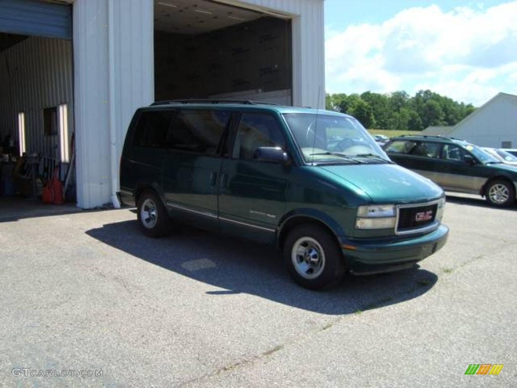 Forest Green GMC Safari