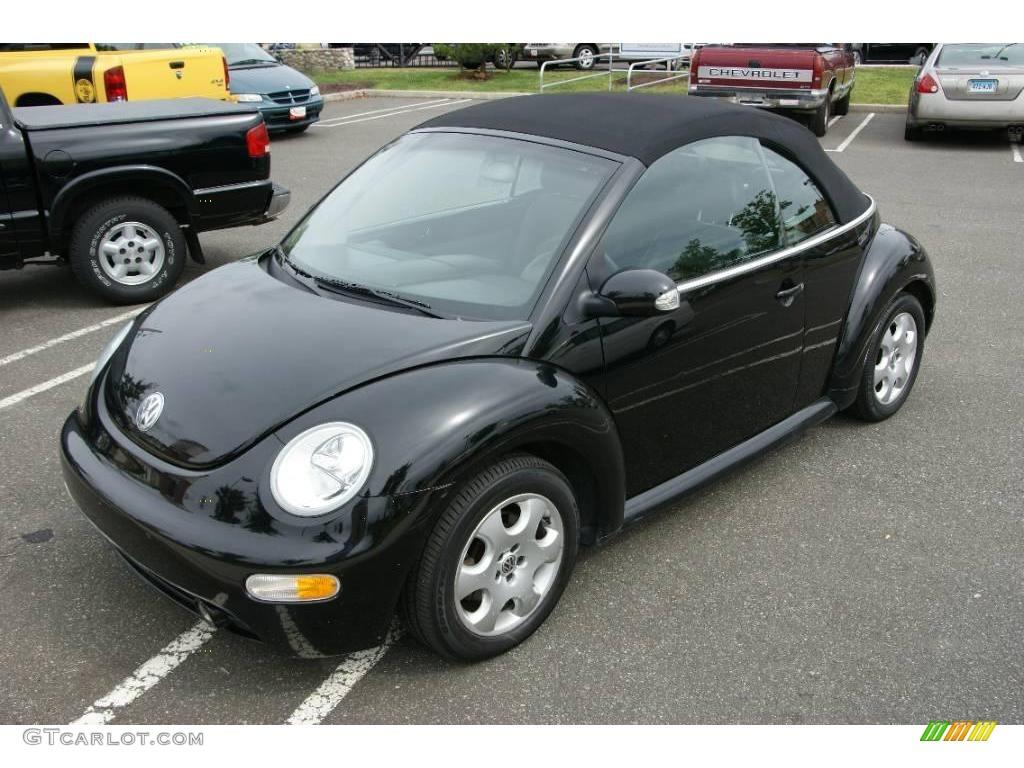 2003 Black Volkswagen New Beetle Gls Convertible 17110449