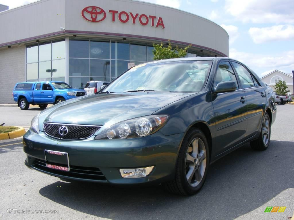 2006 aspen green pearl toyota camry se v6 17110762 car colo. Black Bedroom Furniture Sets. Home Design Ideas