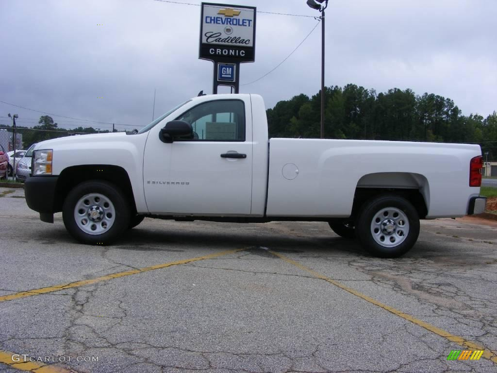 2009 Summit White Chevrolet Silverado 1500 Regular Cab 17110499