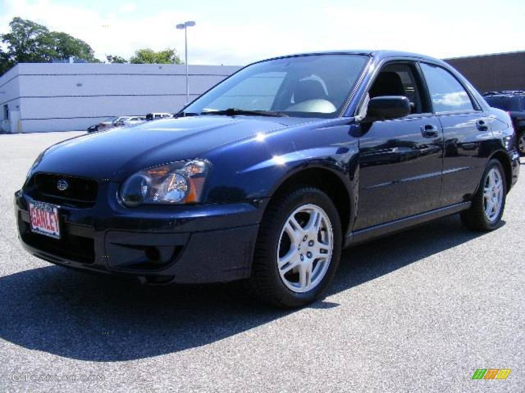 2005 regal blue pearl subaru impreza 2.5 rs sedan #17106993