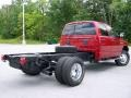 2007 Inferno Red Crystal Pearl Dodge Ram 3500 SLT Quad Cab Chassis  photo #6