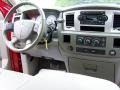 2007 Inferno Red Crystal Pearl Dodge Ram 3500 SLT Quad Cab Chassis  photo #12