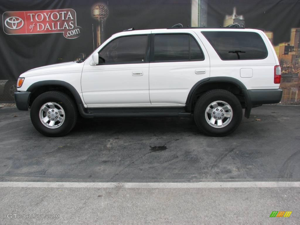 1998 white toyota 4runner sr5 1700547 car color galleries. Black Bedroom Furniture Sets. Home Design Ideas