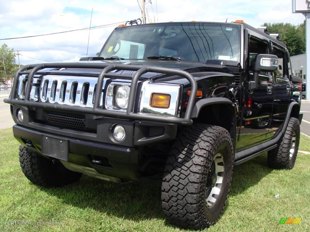 black hummer h2 cars - photo #16