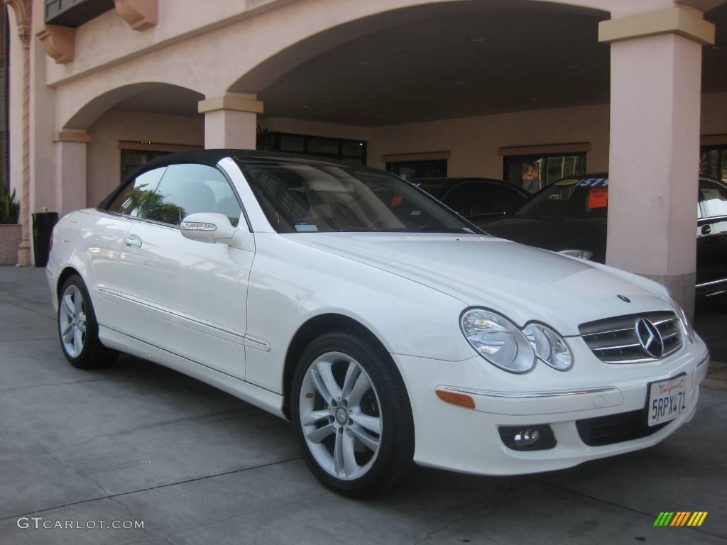 2006 alabaster white mercedes benz clk 350 cabriolet for 2006 mercedes benz clk