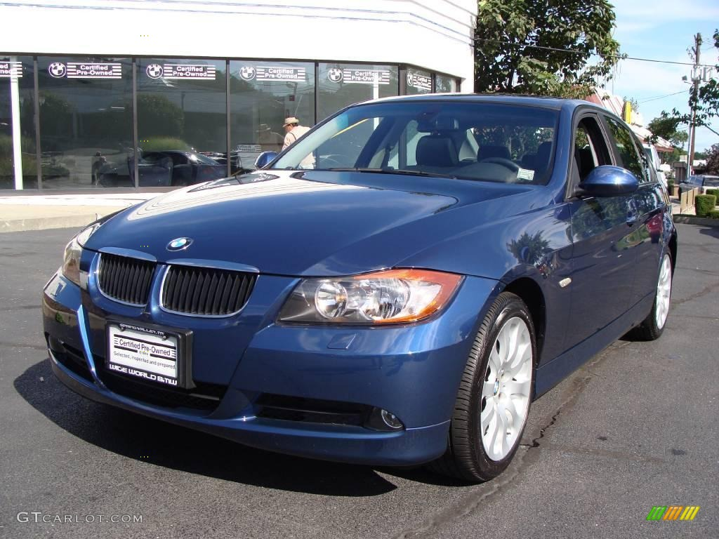 2006 Mystic Blue Metallic Bmw 3 Series 325xi Sedan